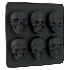 3D - Ice Cube Tray by Skull - Article Number: 240014 - from 7.99 € - EMP Merchandising ::: The Heavy Metal Mailorder ::: Merchandise Shirts ...