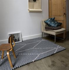 Alfombra S Dot Carpet - Elephant Breath de HAY