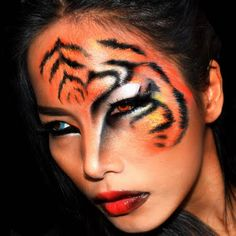 tiger halloween makeup look by maycry m - Tiger For Halloween