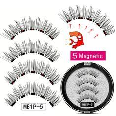 8D Quantum Magnetic Eyelash Partner Set – Hazel Trend Eyelash Curler, Long Lashes, False Lashes, Stainless Steel Alloy, Long Lasting Curls, Magnetic Eyelashes, Eye Shapes, Innovation Design