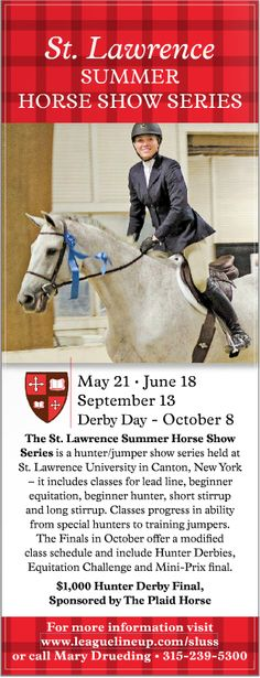 St. Lawrence Summer Horse Show Series