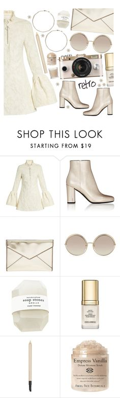 """retro"" by tropicalcraze ❤ liked on Polyvore featuring Marques'Almeida, Yves Saint Laurent, Rebecca Minkoff, Marc Jacobs, Estée Lauder, Shabby Chic and RetroSunglasses"