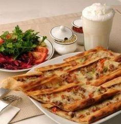Этли экмек (турецкая кухня). Тонкие хрустящие лепешки | Кулинарные Рецепты