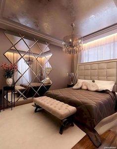 Bedroom Farmhouse Style Ideas #LuxuryBeddingGold