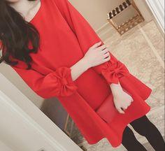 Bowknot Princess Korean Women's Fashion Mid Long Jacket Winter Sweet Overcoat