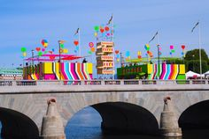 Stockholm Superstructure, by Morag Myerscough and Luke Morgan | Design Week
