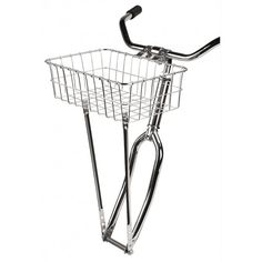 Wald 137 Front Bicycle Basket 15 x 10 x Silver Bicycle Rims, Bicycle Basket, Dog Car, Bicycle Accessories, Wire Baskets, Cycling, Silver, Stuff To Buy, Ebay