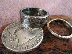アメリカ50セントリングの画像:銀工房ウ