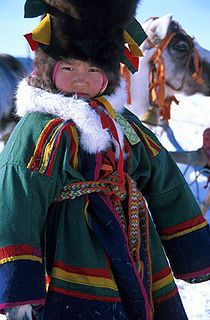 A Nenets child.