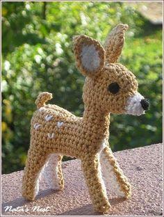 crochet deer