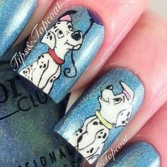 cool Tips and Topcoat: Despicable Me Nail Art - easy :)