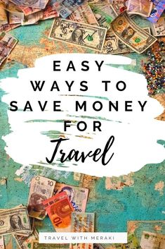 No money for travel? Try these easy ways to save for travel. Perfect for everyone from solo travels to family travel and more. Travel Fund, Travel Money, Solo Travel, Budget Travel, Travel Advice, Travel Quotes, Travel Hacks, Travel With Kids, Family Travel