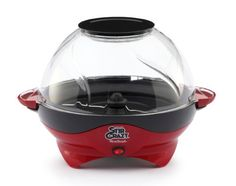Give the Big Game a whole new meaning with the West Bend Stir Crazy 2 Popcorn Popper. Pops up to six quarts of delicious popcorn at once, enough to treat the whole family! When you say super we say bowl! Stir Crazy Popcorn, Pop Popcorn, Popcorn Maker, West Bend Stir Crazy, Specialty Appliances, Kitchen Appliances, Kitchen Gadgets, Small Appliances, Kitchens