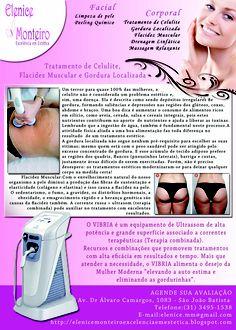 Panfleto para Estética Elenice Monteiro