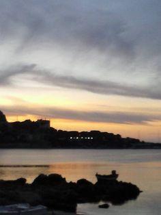 Zotta Beach Sferracavallo Palermo  Tramonto