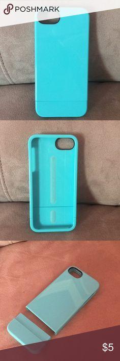 iPhone 5/5s/SE case Blue 2 piece iPhone 5/5s/SE case incase Accessories Phone Cases