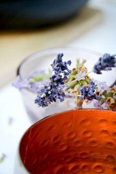 Lavendel Spätsommer Tischdeko