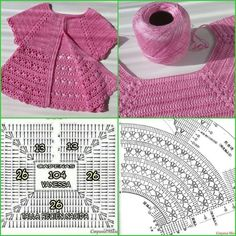 Discover thousands of images about Irish lace, crochet, crochet patterns, clothing and decorations for the house, crocheted. IG ~ ~ crochet yoke for girl's dress ~ pattern diagram Elegant dresses + crochet skirt of tulle. Crochet Baby Dress Pattern, Crochet Fabric, Baby Girl Crochet, Crochet Baby Clothes, Crochet Diagram, Crochet Motif, Crochet Designs, Crochet Stitches, Pull Crochet