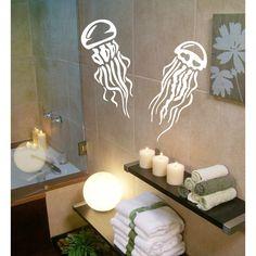Jellyfish Vinyl Sticker Wall Art