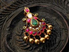 Ruby and emerald jewellery <3