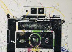 Hierbei handelt es sich um einen handsignierten und per Hand veredelten Siebdruck des bekannten Urban Art Künstlers Mr. Brainwash.    Abmessungen: 55cm x 76cm  Material: Acrylfarbe auf Siebdruck