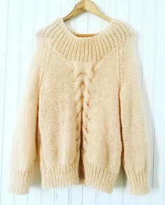 sweater Trenzas Clasico.