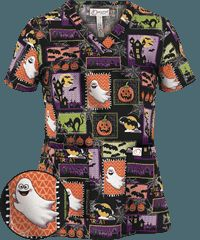 Halloween Print Scrubs | Thanksgiving Holiday Scrubs at UA