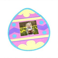 Create our Duck Tape Egg Frame ready for Easter!