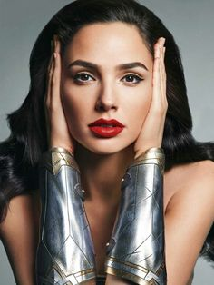 """""""There are so many horrible things that are going on in the world, and this is what you're protesting, seriously? When people argue that Wonder Woman should 'cover up,' I don't quite get it. They say, 'If she's smart and strong, she can't also be sexy.' That's not fair. Why can't she be all of the above?"""" - Gal Gadot comments on Wonder Woman's U.N. ambassador controversy"""