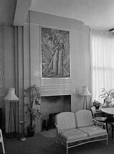 art deco fireplace - Google Search