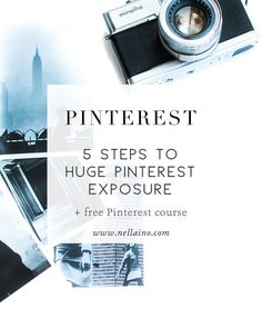 5 really easy steps to get huge Pinterest exposure for your boards and pins. Join my Pinterest tribe and get a FREE Pinterest perfect online course.
