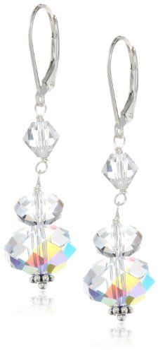 Sterling Silver Swarovski Elements Crystal Aurora Borealis Large Rondelle Drop Earrings Amazon Curated Collection,http://www.amazon.com/dp/B00400MX7Y/ref=cm_sw_r_pi_dp_N6-Gsb1NV1E1EFFJ