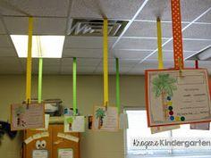 Kroger's Kindergarten: Ceiling RIbbons! (all grades).