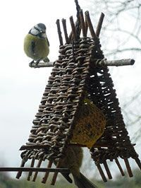 Willow Furniture, Fairy Furniture, Dollhouse Furniture, Fairy Garden Houses, Bird Houses, Garden Art, Branch Decor, Rustic Wall Decor, Willow Weaving