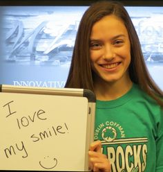 We love your smile too!