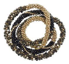 Wrap bracelet in Black
