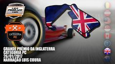 AO VIVO - F1 2016 - GP DA INGLATERRA - CAT. PC - LIGA PRORACE E-SPORTS -...