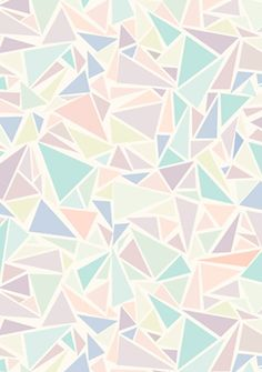 Pastel triangles: