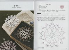 Tatting lace descriptive by Venus