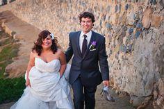 Wedding day in La Jolla, San Diego