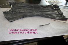 DIY My Favorite Tee Dress - iCandy handmade