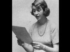 Sylvia Plath reads November Graveyard