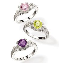 Antique Detail CZ Ring - Sizes 6, 8 & 10 in colors Pink, Green and Purple are available for only $9.99.  That's a savings of $10! http://llroberts.avonrepresentative.com