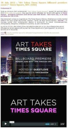 Art Takes Times Square USA 2012