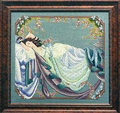 mirabella cross stitch | Mirabilia Sleeping Beauty