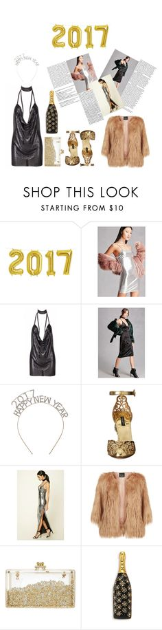 """""""New year 2017"""" by constance1998 ❤ liked on Polyvore featuring Forever 21, Dolce&Gabbana, Balmain, Pinko and Marc Jacobs"""