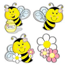 Bee Party Cutouts - OrientalTrading.com