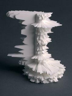 Cylinder grew out of a desire to create truly complex objects which hint at the overwhelming detail present in nature. by Andy Huntington