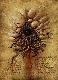 "weirdletter: "" Esoteric Eye, by François Launet, via goominet.com. """