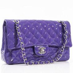 chanel handbags on sale Chanel Clutch, Chanel Handbags, Chanel Bags, Coco Chanel, Chanel Jumbo, Chanel Shoulder Bag, Chanel Classic Flap, Patent Leather, Purple Reign